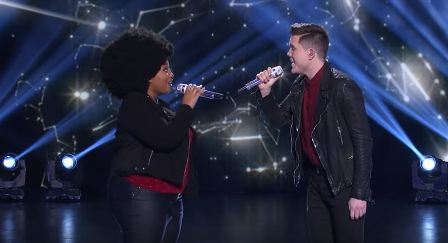 American Idol Season 15 Top 6 Duets LaPorsha and Trent