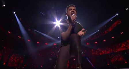 "Season 11's Joshua Ledet killing it on ""It's a Man's World"""