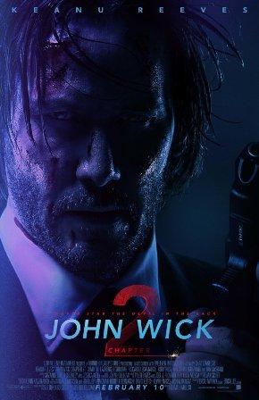 John Wick 2 Keanu Reeves Poster