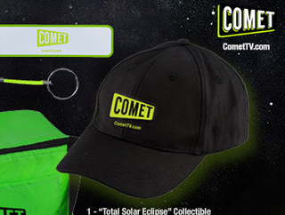 Giveaway: COMET TV Solar Eclipse Prize Pack - OVER