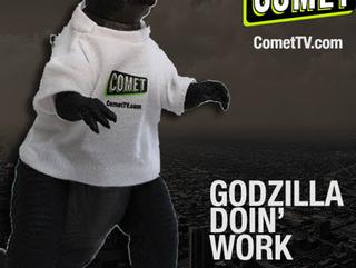 Giveaway: COMET TV Godzilla Doin' Work Prize Pack