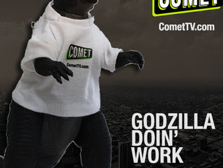 Giveaway: COMET TV Godzilla Doin' Work Prize Pack