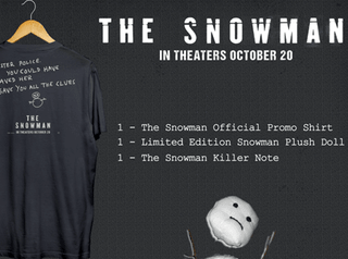 Giveaway: Universal Studios' The Snowman Prize Pack