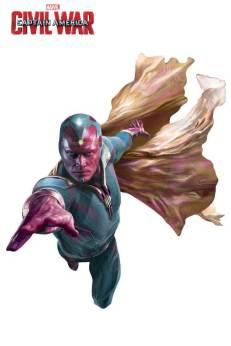 Marvel's Captain America Civil War Promo Art - Vision