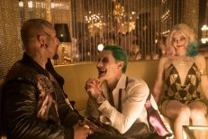Jared Leto, Common, and Margot Robbie in Suicide Squad