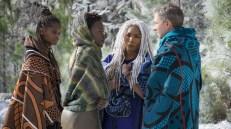 Black Panther 8 - Letitia Wright, Lupita Nyongo, Angela Bassett, Martin Freeman