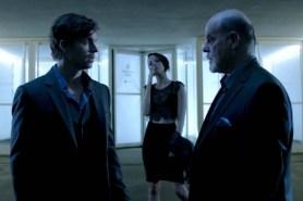 Michael Ironside, Chad McKnight, et Brianne Davis dans Synchronicity (2015)