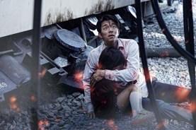 Yoo Gong et Soo-an Kim dans Dernier train pour Busan (2016)