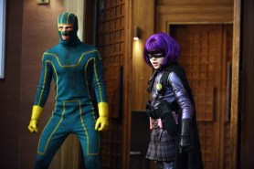 Aaron Taylor-Johnson et Chloë Grace Moretz dans Kick-Ass (2010)