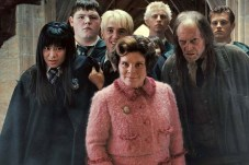 Imelda Staunton, David Bradley, Tom Felton, Jamie Waylett, et Katie Leung dans Harry Potter et l'ordre du Phénix (2007)