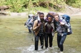 Wes Robinson, Brandon Scott, Corbin Reid, James Allen McCune, et Callie Hernandez dans Blair Witch (2016)