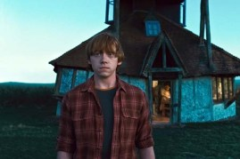 Rupert Grint dans Harry Potter et les reliques de la mort: 1ère partie (2010)