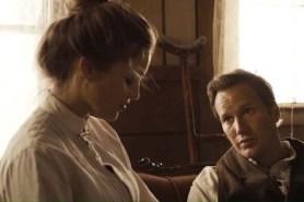 Patrick Wilson et Lili Simmons dans Bone Tomahawk (2015)