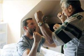 Robert De Niro et Bradley Cooper dans Silver Linings Playbook (2012)