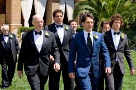 Lou Ferrigno, Thomas Lennon, Joe Lo Truglio, Paul Rudd, J.K. Simmons, Andy Samberg, et Murray Gershenz dans I Love You, Man (2009)