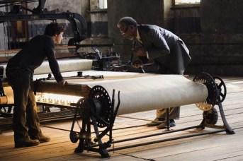 Morgan Freeman et James McAvoy dans Wanted (2008)