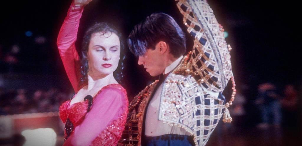 Strictly Ballroom trilogía de las cortinas rojas