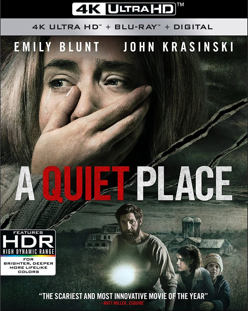 A quiet place 4k Blu-ray