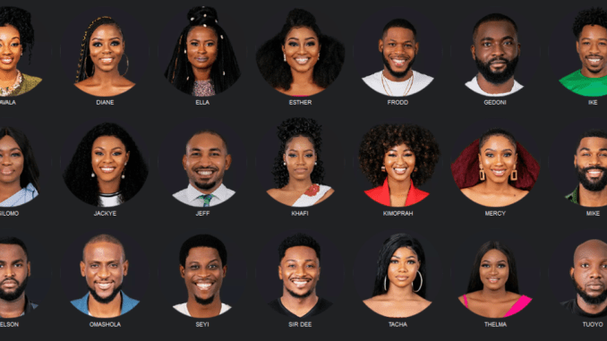 BBnaija season 4 housemates