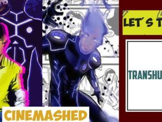 Transhuman nigerian comic