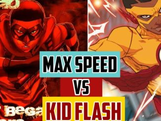 max speed vs kid flash