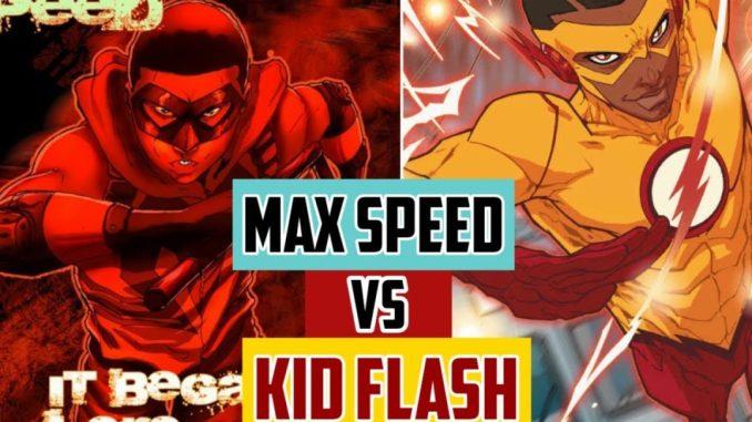 max speed vs kid flash