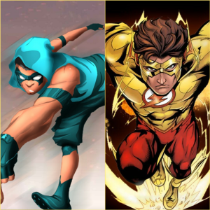 Max Speed and kid Flash