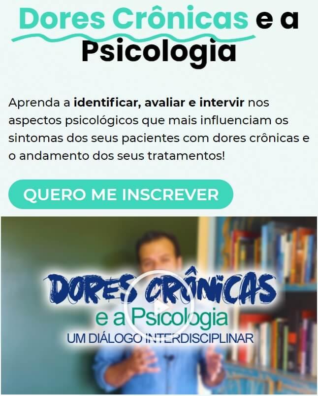 curso dores cronicas e a psicologia