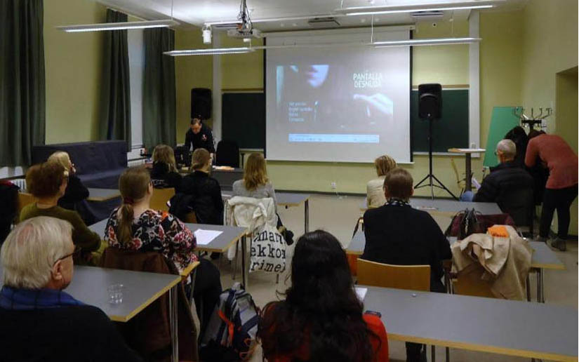 Tardes de cine nicaragüense en Finlandia