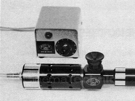Original Richter Cine light source for collimator