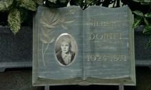 Gilberte's tombstone