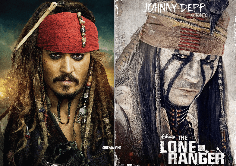 johnny depp, pirates of the Caribbean, the lone ranger