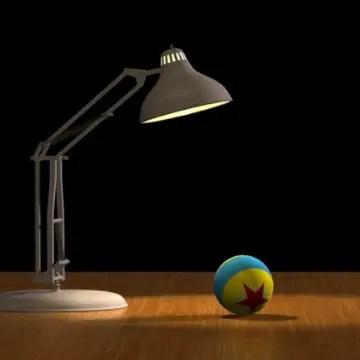 Pixar Lamp and Ball