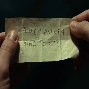 Sign: The Law of Four