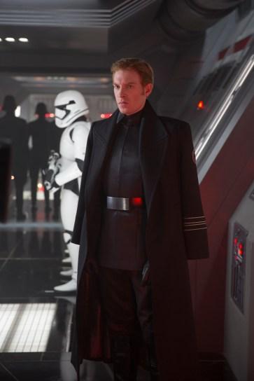 Star Wars: The Force Awakens General Hux (Domhnall Gleeson) Ph: David James ©Lucasfilm 2015