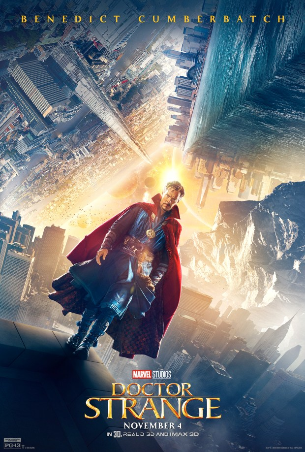 Doctor Strange (Benedict Cumberbatch).