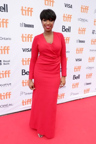 "Jennifer Hudson seen at Universal Pictures ""Sing"" at the 2016 Toronto International Film Festival on Sunday, Sept. 11, 2016, in Toronto. (Photo by Eric Charbonneau/Invision for Universal Pictures/AP Images)"
