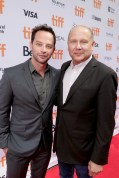 """Producer Christopher Meledandri and Nick Kroll seen at Universal Pictures """"Sing"""" at the 2016 Toronto International Film Festival on Sunday, Sept. 11, 2016, in Toronto. (Photo by Eric Charbonneau/Invision for Universal Pictures/AP Images)"""