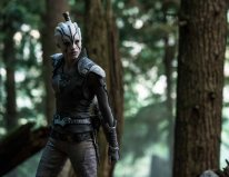 Sofia Boutella plays Jaylah in Star Trek Beyond from Paramount Pictures, Skydance, Bad Robot, Sneaky Shark and Perfect Storm Entertainment