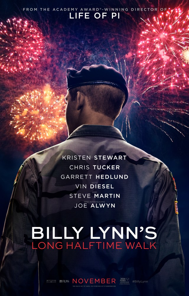 Billy Lynn's Long Halftime Walk - Official US Poster.jpg