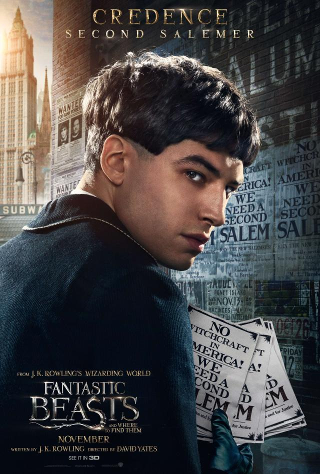 Fantastic Beasts - Credence Poster.png