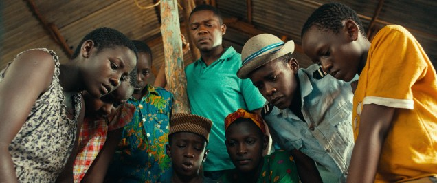 Madina Nalwanga is Phiona Mutesi and David Oyelowo is Robert Katende in Disney's QUEEN OF KATWE, the vibrant true story of a young girl from the streets of rural Uganda whose world rapidly changes when she is introduced to the game of chess. Oscar (TM) Lupita Nyong'o also stars in the film, directed by Mira Nair.