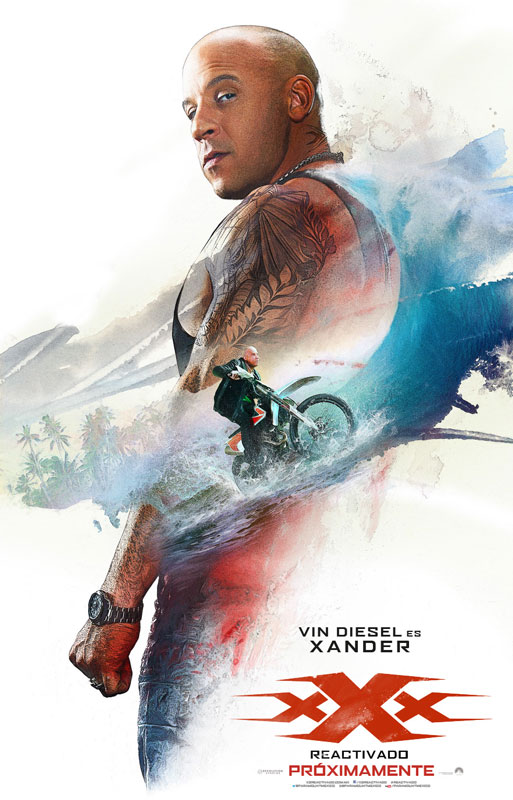 Vin Diesel es Xander en 'xXx: Reactivado'
