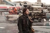 Rogue One: A Star Wars Story..Jyn Erso (Felicity Jones) ..Ph: Jonathan Olley..© 2016 Lucasfilm Ltd. All Rights Reserved.