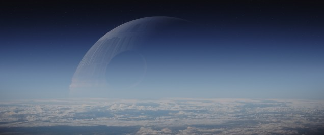 Rogue One: A Star Wars Story..Death Star..Photo credit: Lucasfilm/ILM..©2016 Lucasfilm Ltd. All Rights Reserved.