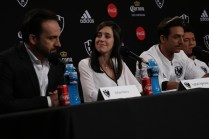 Netfilx Club de Cuervos S2, Press Conference 2016/Antonio de la Vega, Mariana Treviño, Joaquin Ferreira, Said Sandoval/Photographer-Federico García.