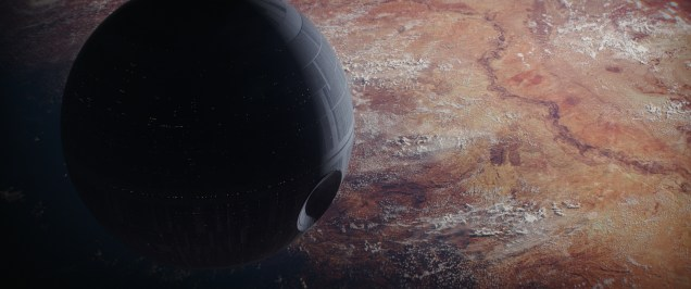 Rogue One: A Star Wars Story..The Death Star..Ph: Film Frame ILM/Lucasfilm.© 2016 Lucasfilm Ltd. All Rights Reserved.