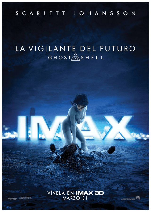 Ghost in the Shell MX IMAX Poster