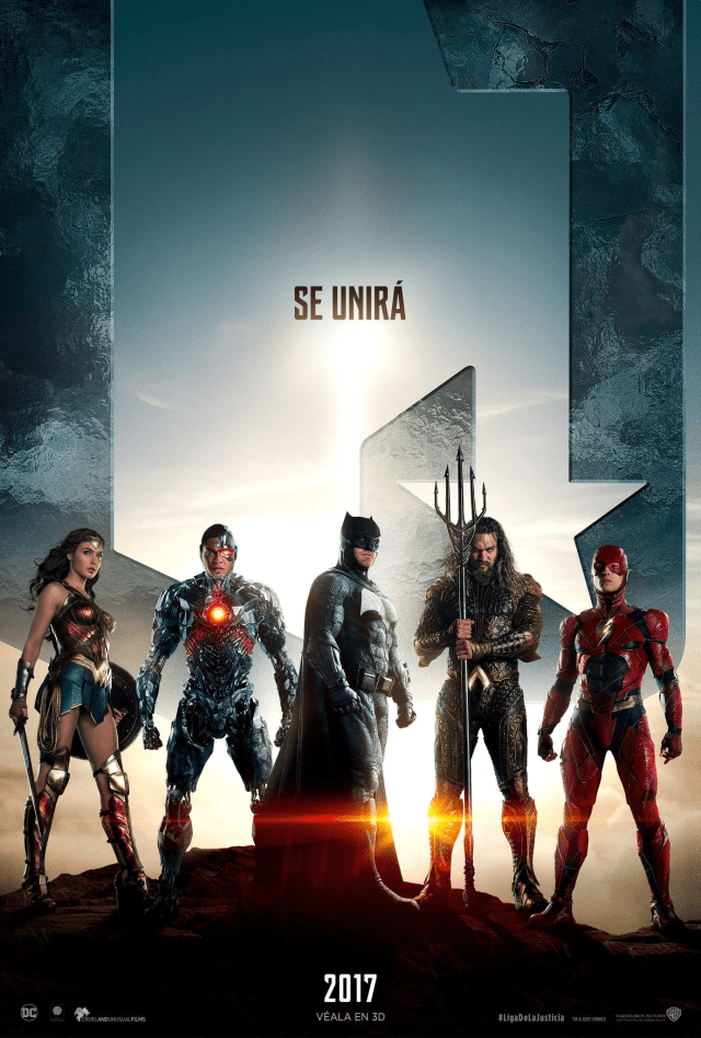 Justice League - LATAM Equipo Posters Personajes