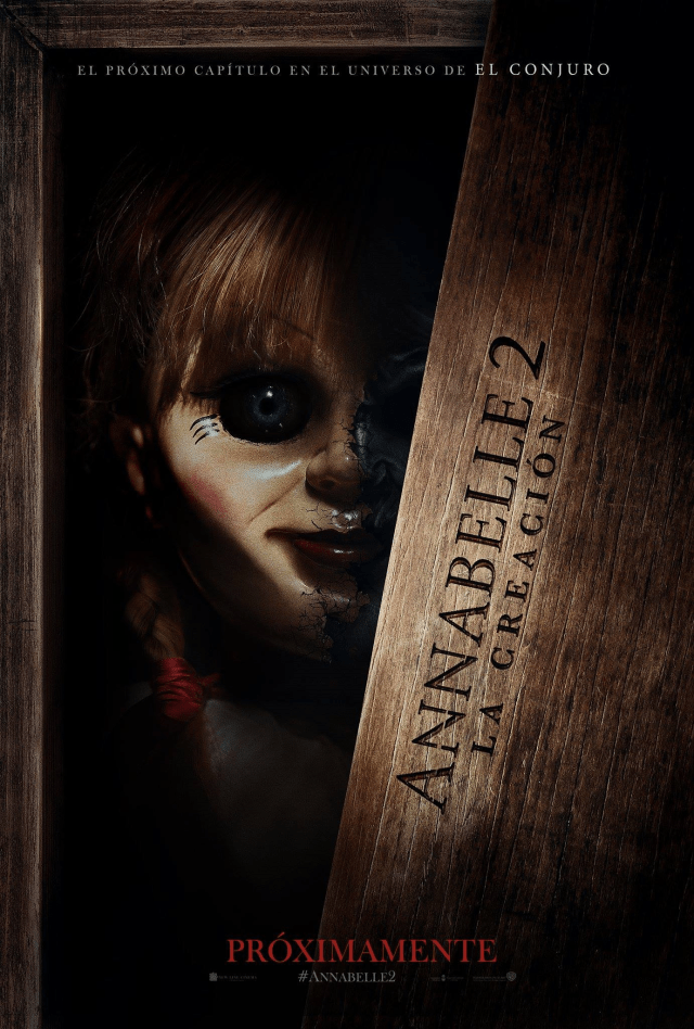 Annabelle Creation MX Poster 1